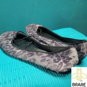 Shoes - Womens size 9 leopard flats